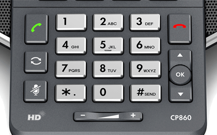 Yealink CP860 Conference Controls
