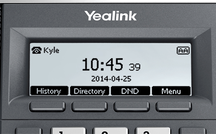 Yealink CP860 Large Readable Screen